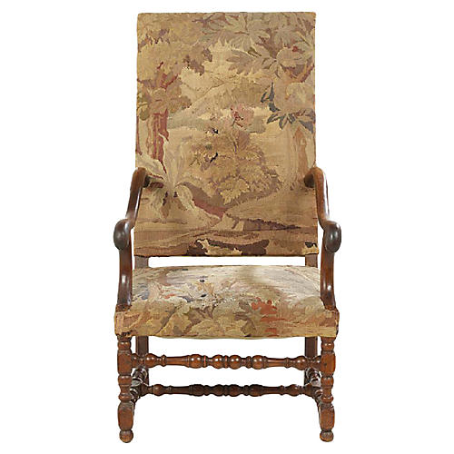 Fruitwood Fauteuil