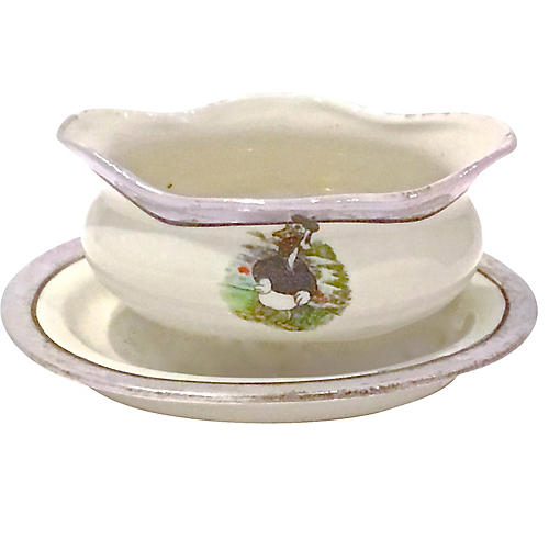 Donald Duck Sugar Bowl, 2-Pcs