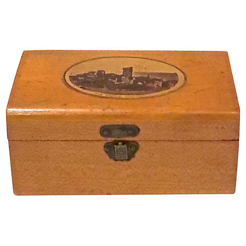 Antique Castle Hastings Box