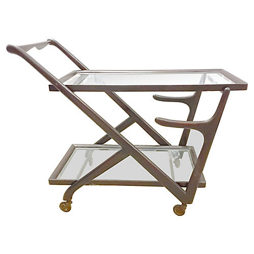 Midcentury Italian Bar Cart