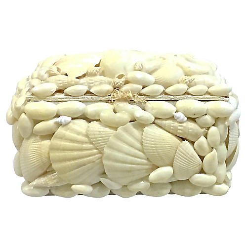 Composed Shell Jewelry Box