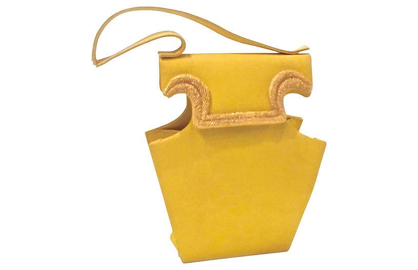 Christian Lacroix Silk Faille Handbag