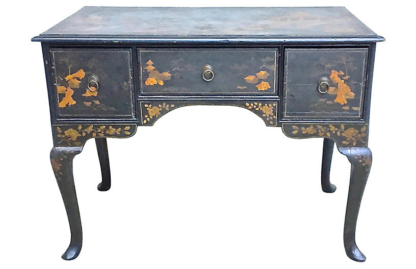18th-C. Chinoiserie Lowboy