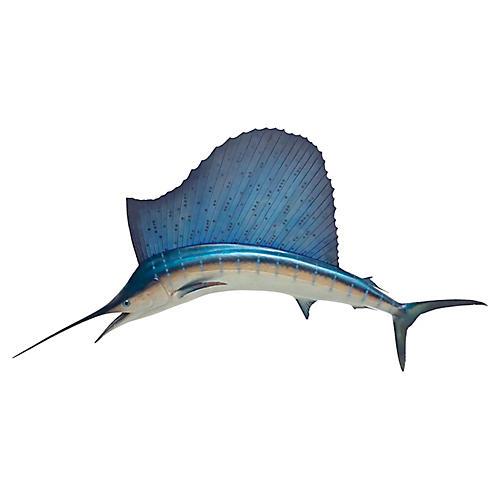 Sailfish Wall Sculpture