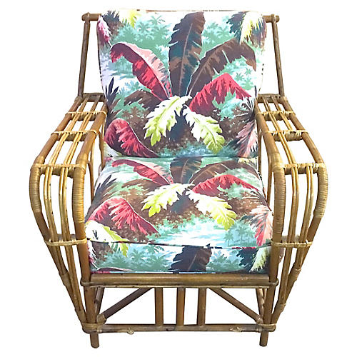 Rattan Club Chair