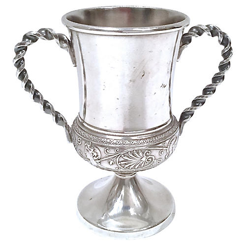 Aesthetic Movement Silver Trophy Cup