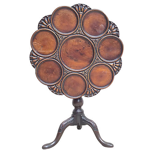 Antique Georgian Tilt-Top Table