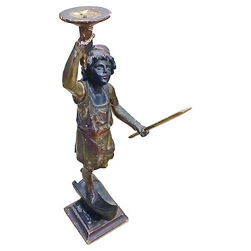 Venetian Gondolier Candleholder