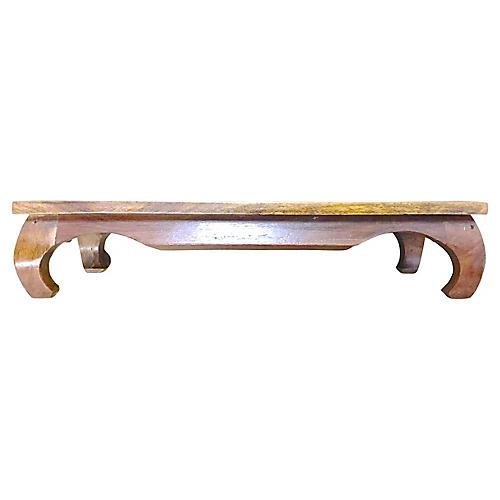 Asian Wooden Pedestal