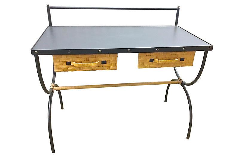 Mid-Century Modern Jacques Adnet Desk