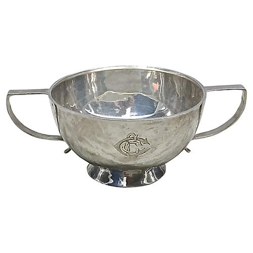 Antique Silverplated Trophy Cup
