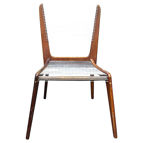 MCM Jacques Guillon Cord Chair