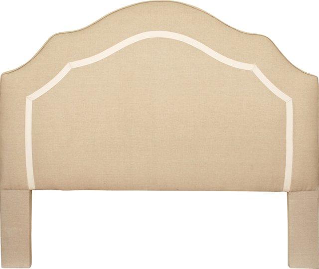 Linen Headboard & Bedskirt, Queen