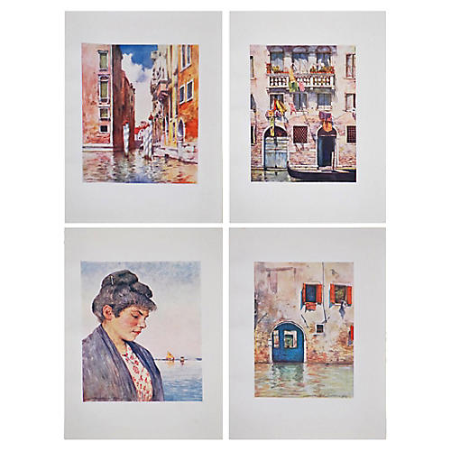 Venice Prints by M. Menpes, S/4