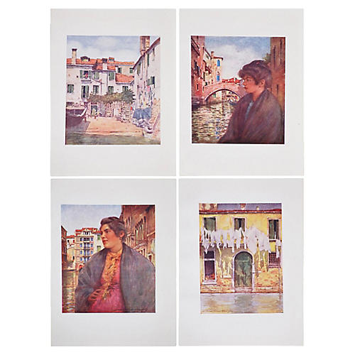 Prints of Venice by M. Menpes, S/4