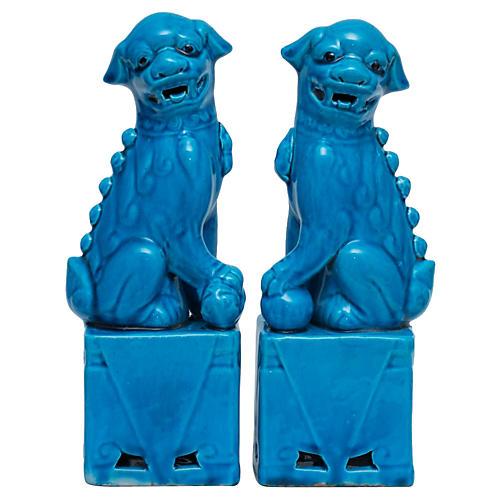 Chinese Foo Dogs Bookends