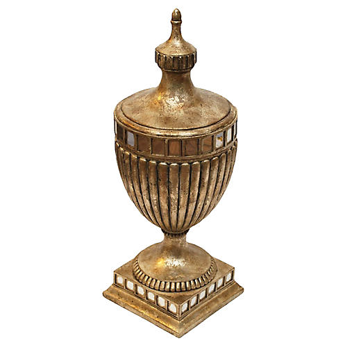 Neoclassical-Style Lidded Urn