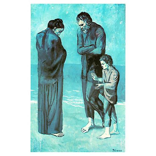 Les Pauvres au Bord de la Mer by Picasso