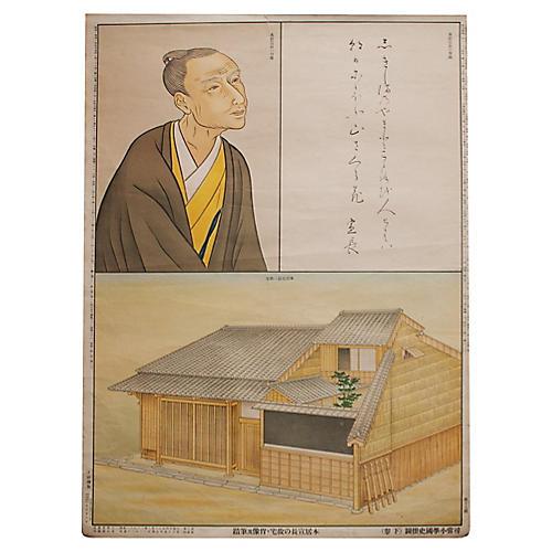 Arai Hakuseki Print