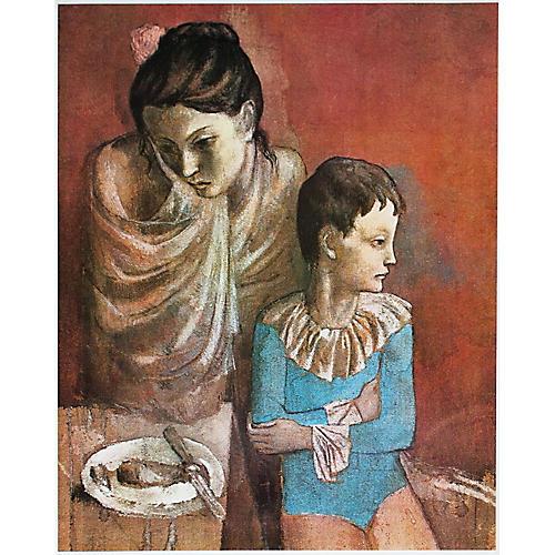 Picasso Mère et Enfant Photogravure