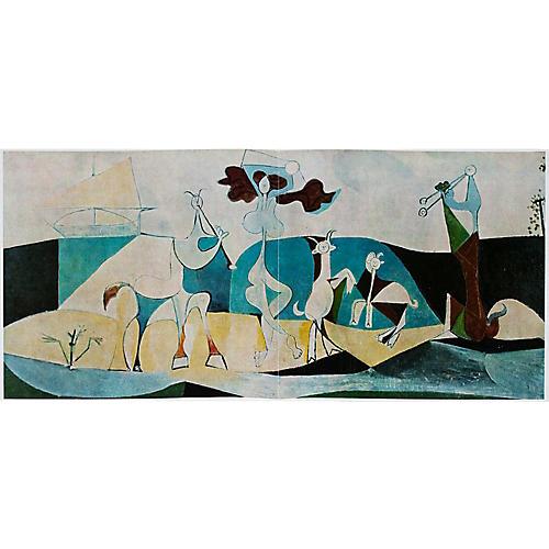 Picasso La Joie de Vivre Photogravure