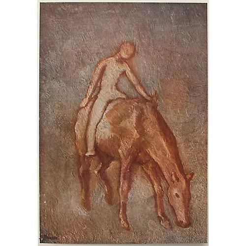 Picasso Jeune Garçon Lithograph