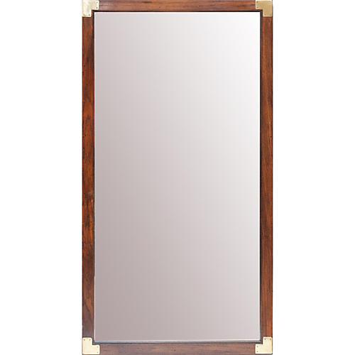 Campaign Style Henredon Mirror
