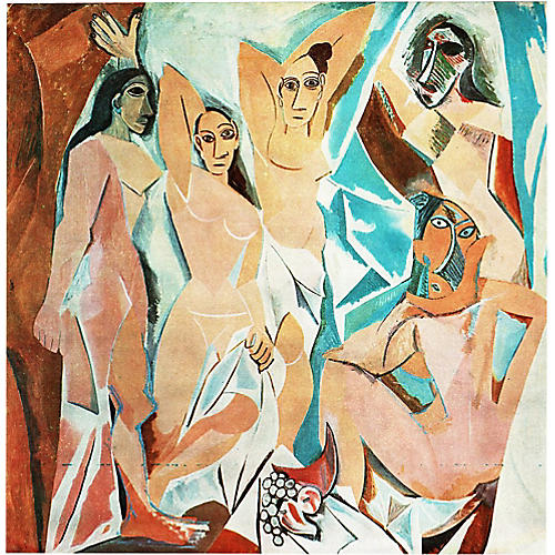 Picasso Les Demoiselles d'Avignon, 1971
