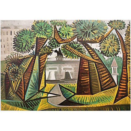 Picasso Le Vert-Galant Print, 1971