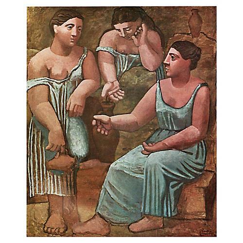 Picasso Trois Femmes à La Fontaine, 1971