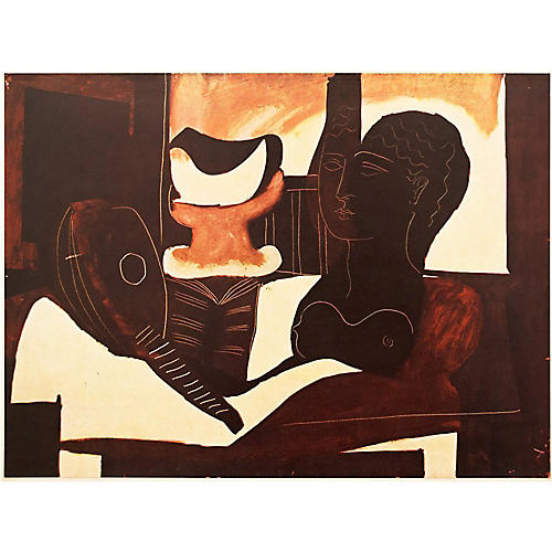 Picasso Nature Morte à La Tête, 1947