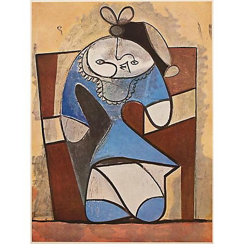 Picasso La Fille de la Concierge, 1947