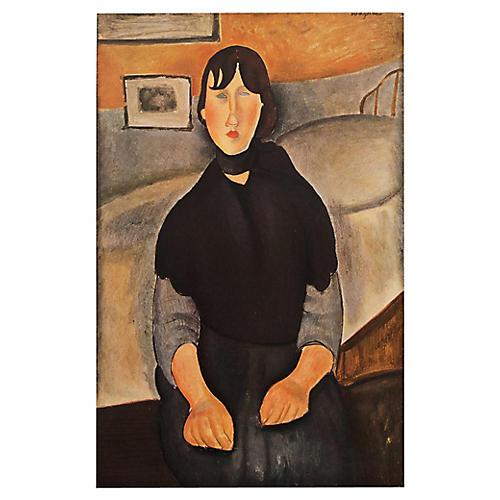 Modigliani Daughter of the People, 1947