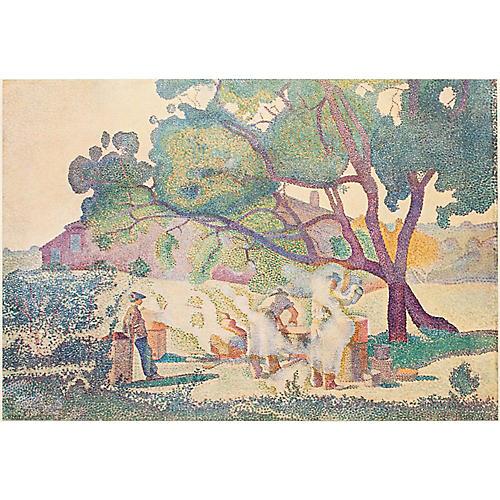 Henri-Edmond Cross Les Bouilleurs, 1947