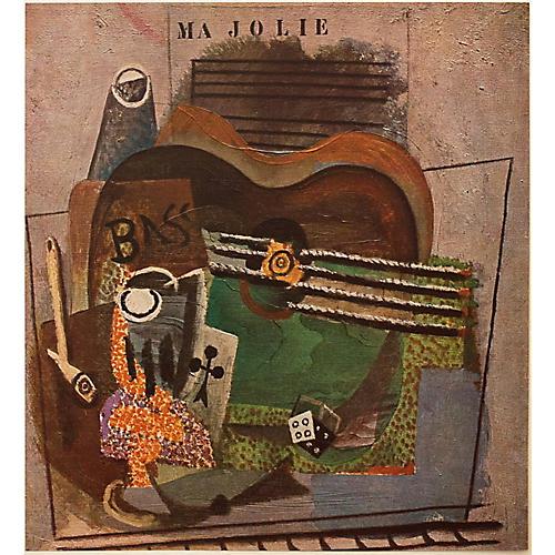 Picasso Ma Jolie Lithograph, 1947