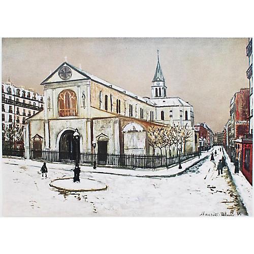 M. Utrillo, Notre-Dame de Clignancourt