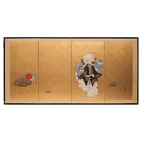 Dance of White Lion, Shōwa Era Screen