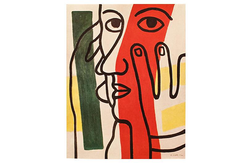 1948 Léger, Portrait of Paul Eluard