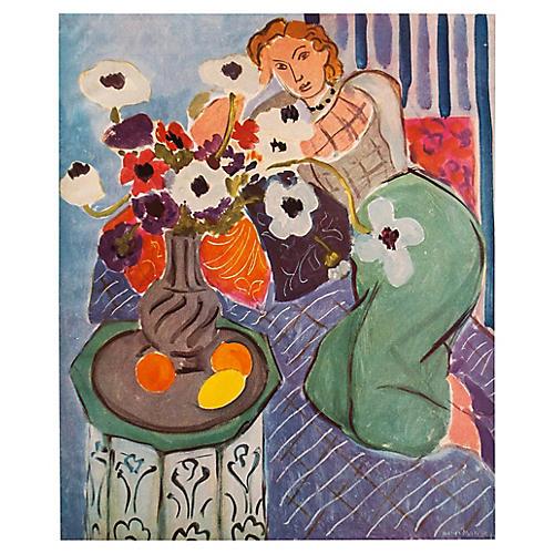 Blue Odalisque by Henri Matisse, C. 1940
