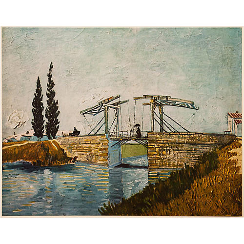 1950s Van Gogh, The Drawbridge