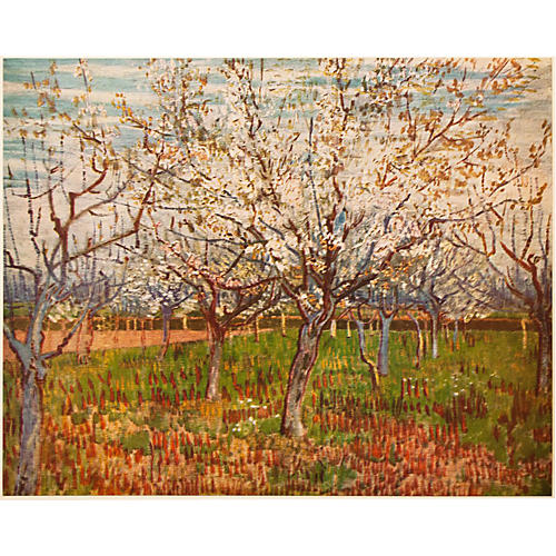 1950s Vincent van Gogh, The Orchard