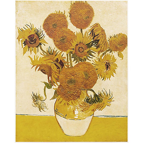 1950s Vincent van Gogh, Sunflowers