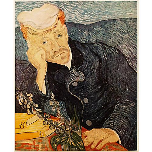 1950s Van Gogh, Portrait of Dr. Gachet
