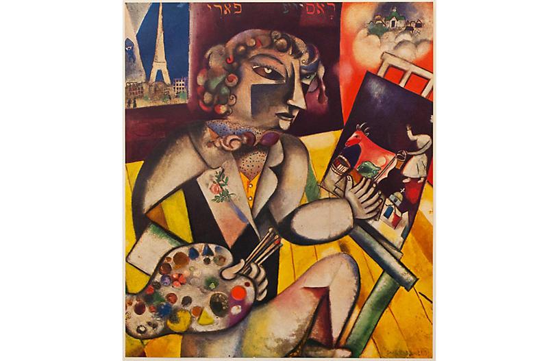Chagall, Self-Portrait w/ Seven Fingers