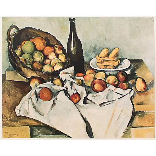 Paul Cézanne Still Life, 1st Ed