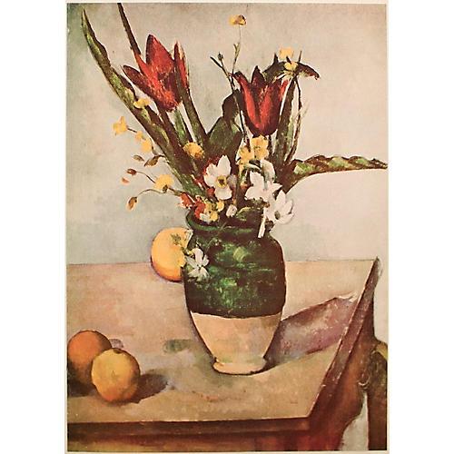 P. Cézanne, 1st Ed Lithograph