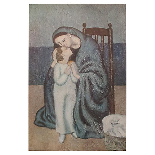 1948 Picasso Maternité, COA