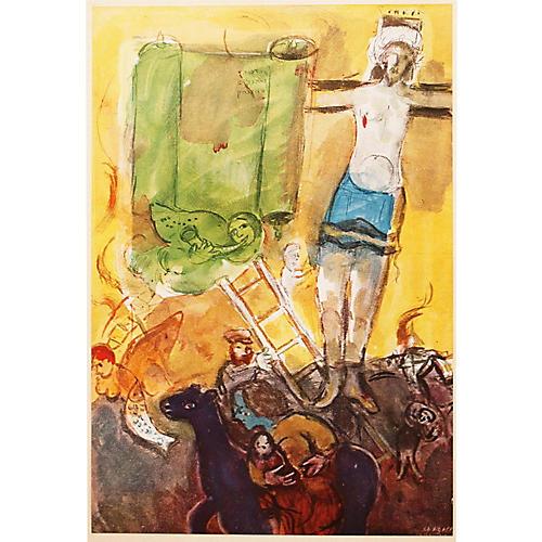 1947 Chagall Résurrection, COA