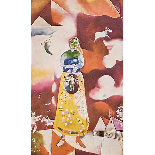 Marc Chagall Maternity, C. 1940