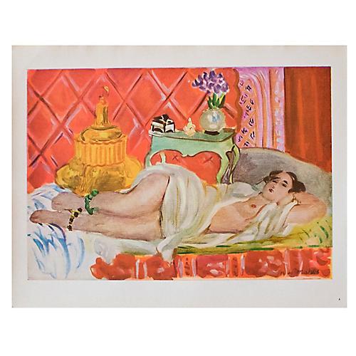 1940s Henri Matisse, Red Odalisque